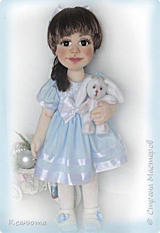 Маленькая принцесса.Кукла по фото. фото 5