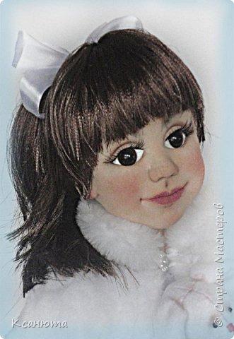 Маленькая принцесса.Кукла по фото. фото 9