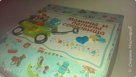 """Большая сокровищница с конвертиком для узи и блокнотиком """"Мой малыш"""" фото 6"""