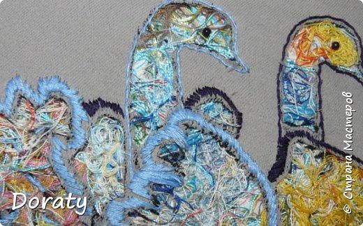 Вечер добрый!  Родилась  вот такая пара.   Повелось так с самой древности: Эти птицы – символ верности. В отраженье свое глядя, Вот скользят по водной глади, Восхищая всех людей, Двое белых лебедей. фото 2