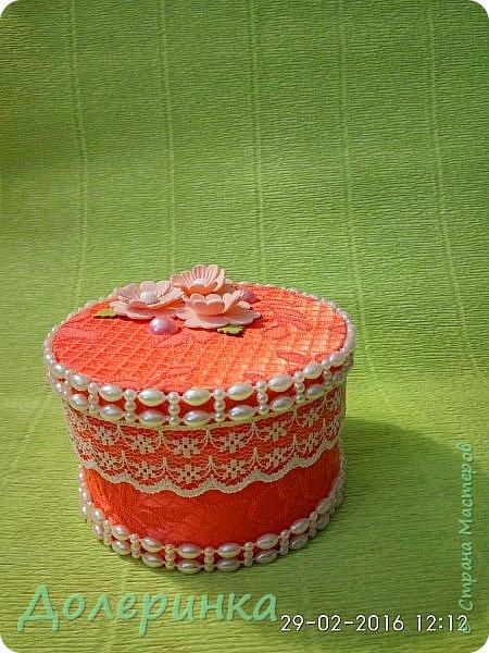 доброго времени суток! по случаю достался лоскут красивой ткани....и так захотелось сделать шкатулку... фото 5