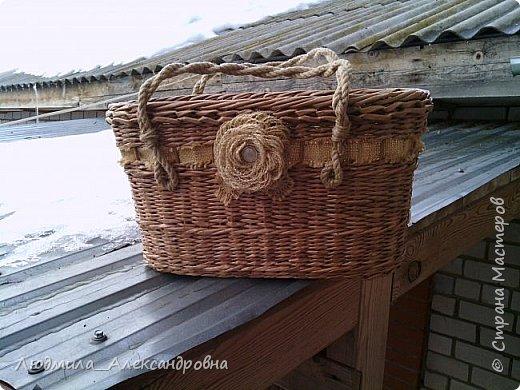 Здравствуйте дорогие соседи!!!! Сегодня я с сумочкой, просили такую же как первая. Что получилось вам судить.  фото 1