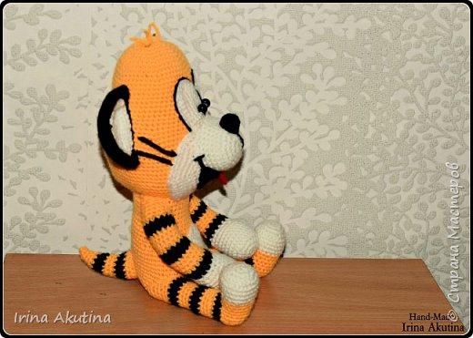 Маленький игривый тигренок фото 2