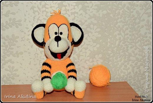 Маленький игривый тигренок фото 1