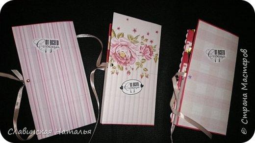 На 8 марта воспитателям в подарок внутри потайной кармашек для сертификата по 2пакетика чая в каждом кармашке и шоколад фото 4