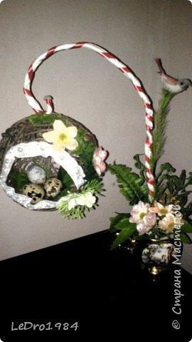 Очередной топиарий гнездо фото 1