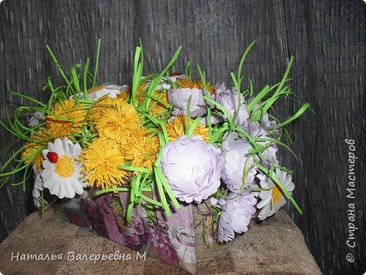 Корзиночка с цветами в садик фото 2