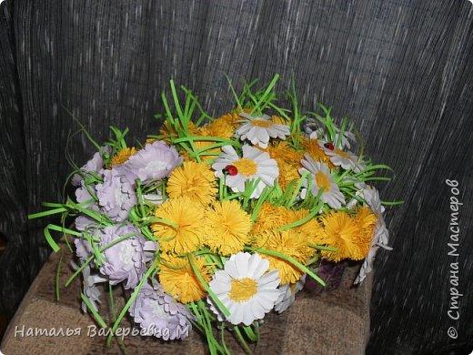 Корзиночка с цветами в садик фото 1