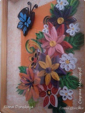 """Всем доброго дня! Это моя третья работа ( предшествовавшая картине """"Лето в феврале"""" ). Делала я ее на юбилей мамули. )) фото 3"""