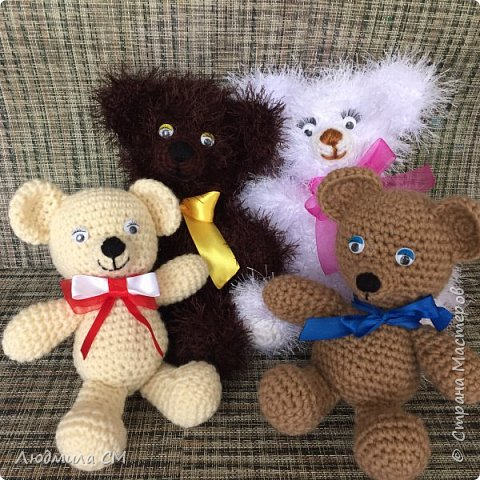 Все игрушки связаны по мастер классам с сайта Страны Мастеров фото 1