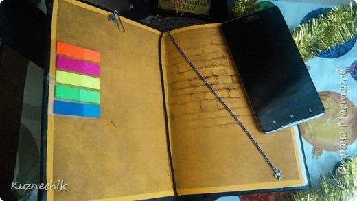 Персональный блокнот ручной работы в Подарок фото 4