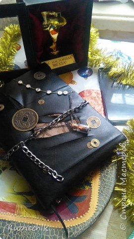 Персональный блокнот ручной работы в Подарок фото 3