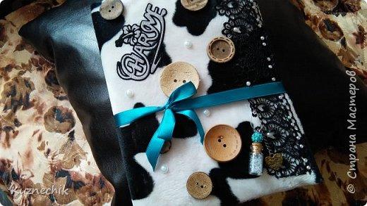 Персональный блокнот ручной работы в Подарок фото 10