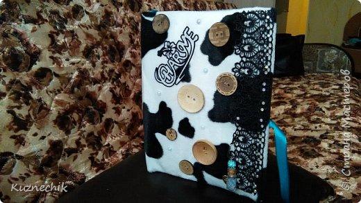 Персональный блокнот ручной работы в Подарок фото 2
