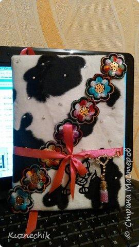 Персональный блокнот ручной работы в Подарок фото 1