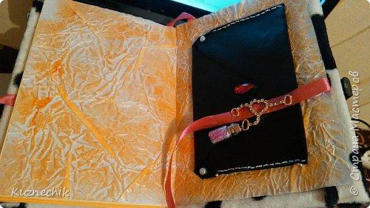 Персональный блокнот ручной работы в Подарок фото 6