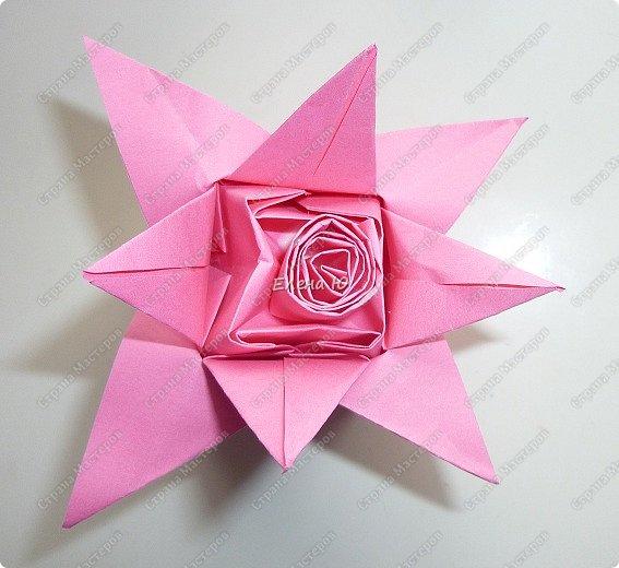 Такие бутоны роз на подставочке (или в вазоне)   мы сделали с ребятами мамам на 8 Марта:  фото 12