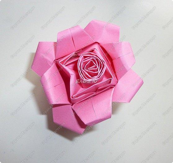 Такие бутоны роз на подставочке (или в вазоне)   мы сделали с ребятами мамам на 8 Марта:  фото 16