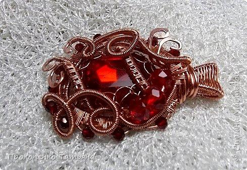 Мои первые украшения в технике Wire Wrap фото 7