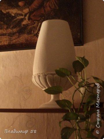 Настольная ваза из картона фото 1