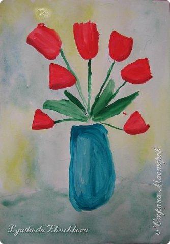 Тюльпаны для мамы  фото 2