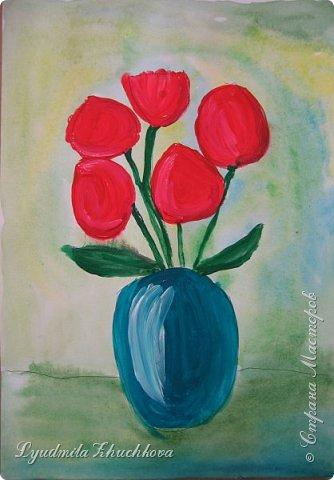 Тюльпаны для мамы  фото 3