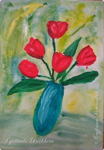 Тюльпаны для мамы  фото 4