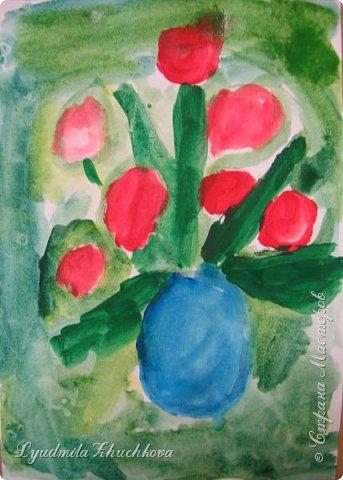 Тюльпаны для мамы  фото 5