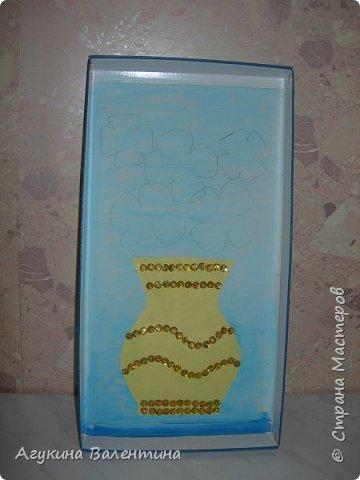 Подарки  для  мам  и  бабушек  с  помощью пайеток. фото 4