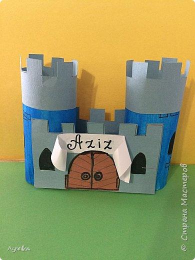 По просьбе детей сделали замки,теперь у каждого маленького принца и принцессы есть свой замок :) фото 1