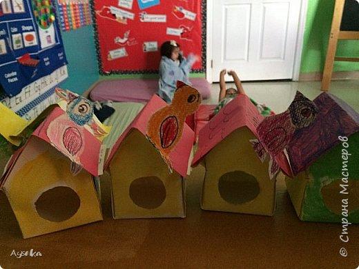 По просьбе детей сделали замки,теперь у каждого маленького принца и принцессы есть свой замок :) фото 6