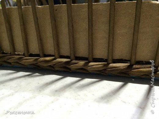 Ну вот и завершён заказ. 5 коробов размером 40*40*40 см. Смотрю на них и думаю, как бы и мне они не помешали в хозяйстве. Но как известно: плетельщик без коробов :)))  фото 11