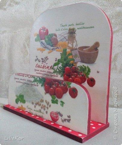 Подставка для кухонных досок. фото 9