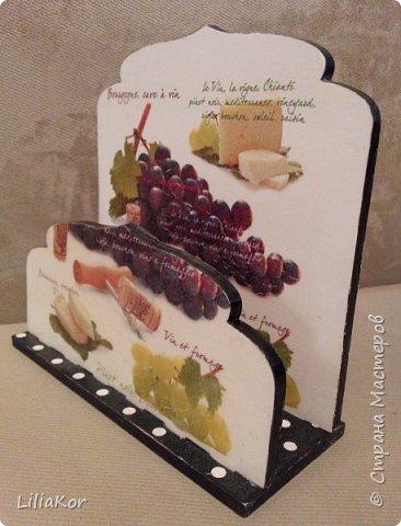 Подставка для кухонных досок. фото 4