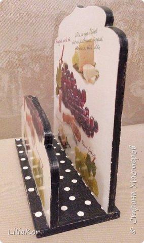 Подставка для кухонных досок. фото 5