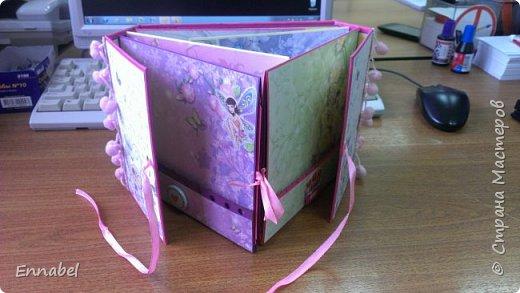 Альбом для милой девочки Киры.Альбом вмещает в себя более 50 фотографий. фото 3