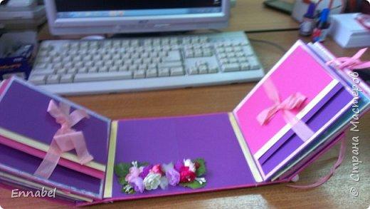 Альбом для милой девочки Киры.Альбом вмещает в себя более 50 фотографий. фото 4