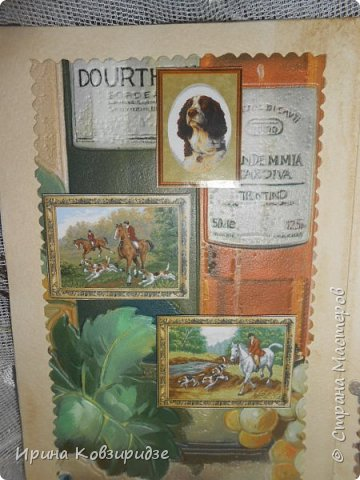 Сделала 4 открытки из остатков срапбумаги, остатков красивых обоев (бумага есть бумага), наклеек, кружев и перьев, и т.д. фото 17