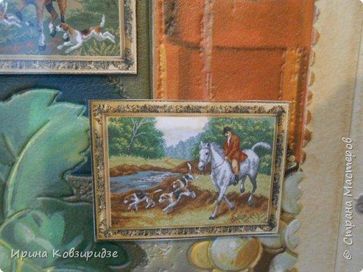Сделала 4 открытки из остатков срапбумаги, остатков красивых обоев (бумага есть бумага), наклеек, кружев и перьев, и т.д. фото 18