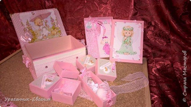 Попросили сделать мамины сокровища для дочки батюшки и что бы с ангелочками:) фото 6