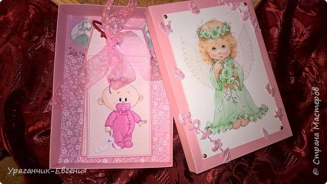 Попросили сделать мамины сокровища для дочки батюшки и что бы с ангелочками:) фото 5