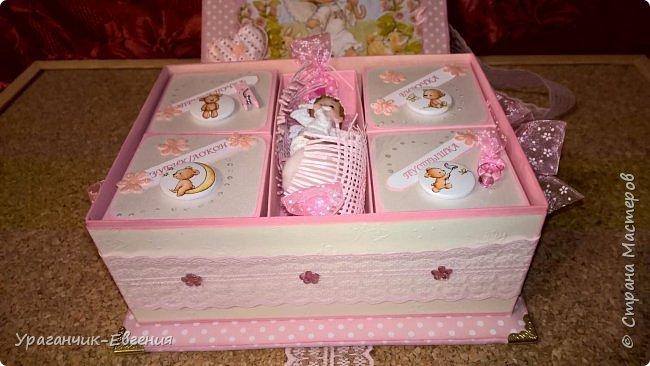 Попросили сделать мамины сокровища для дочки батюшки и что бы с ангелочками:) фото 9