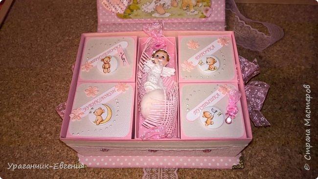 Попросили сделать мамины сокровища для дочки батюшки и что бы с ангелочками:) фото 8