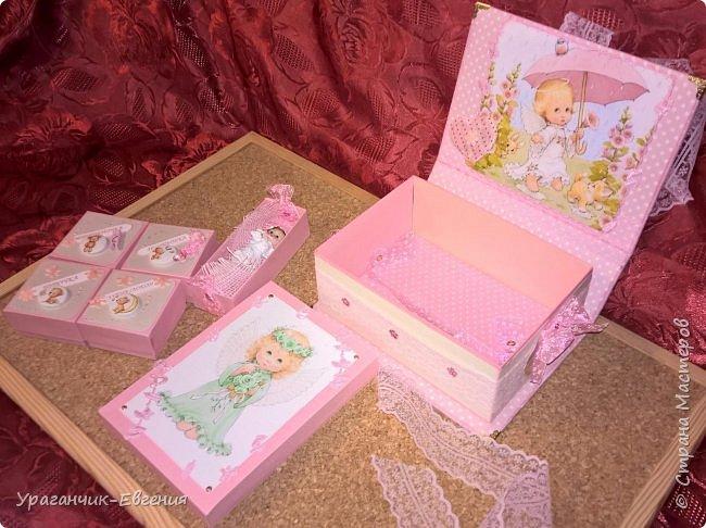 Попросили сделать мамины сокровища для дочки батюшки и что бы с ангелочками:) фото 3