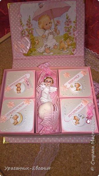 Попросили сделать мамины сокровища для дочки батюшки и что бы с ангелочками:) фото 10