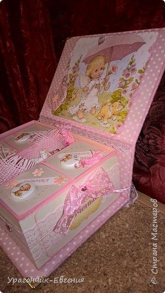 Попросили сделать мамины сокровища для дочки батюшки и что бы с ангелочками:) фото 7