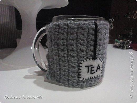 Для холодных зимних вечеров!:) Грелка и кружка в оригинальных чехлах:)  фото 2
