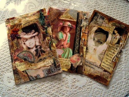 Декупаж , открытки  фото 1