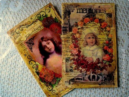 Декупаж , открытки  фото 3