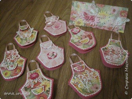 эти фартушки - небольшие , для девочек-подружек фото 8